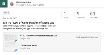 Tracking Data in Mastery-Based Grading – Mari Venturino