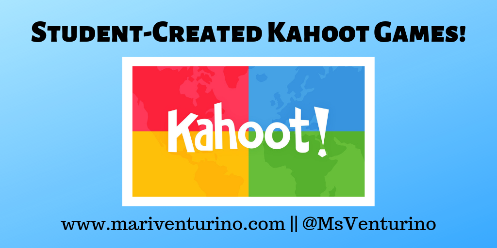 Student-Created Kahoot Games!